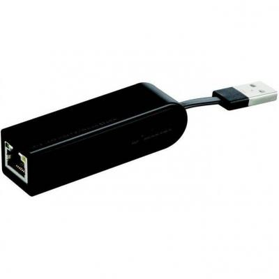 D-link usb 2.0 10/100mbps fast ethernet adapter - dub-e100