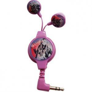 Disney earphone hannah montana dsy-hp770 - disney headphone hanna montana