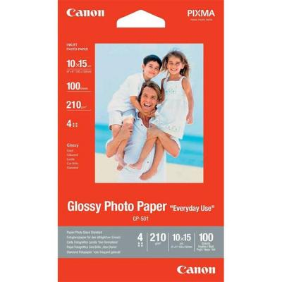 Хартия canon gp-501 10x15 cm, 100 sheets - 0775b003bb