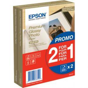 Хартия epson premium glossy photo paper, 100 x 150 mm, 255g/m2, 80 blatt - c13s042167