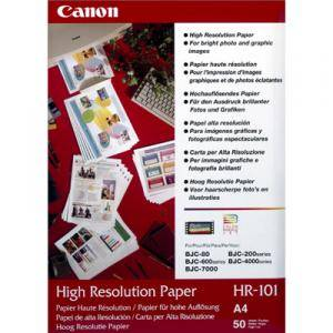 Хартия canon hr-101 a4 50sheets - bef51-2101350