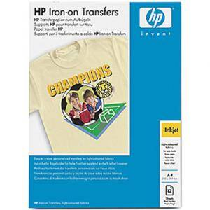 Хартия hp iron-on t-shirt transfers, a4 - c6050a