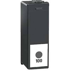Lexmark #100xl black high yield return program ink cartridge for platinum, prestige, prevail, prospect, interact - 14n1068e - sci lex100xl-bk 7341