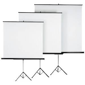 Екран за прожетор 125 x 125 cm   roller projection screen - hama-18790