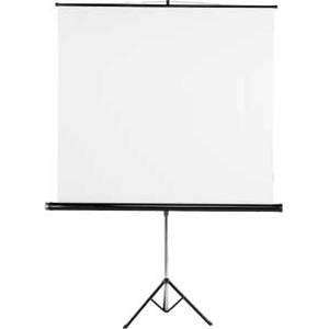Екран за прожетор 155 x 155 cm   roller projection screen - hama-18793