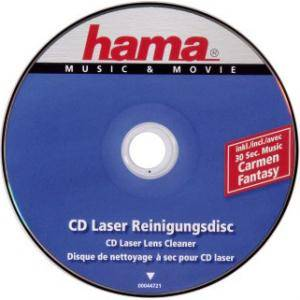 Почистващ комплект cd/cd-rom/ dvd laser lens cleaner hama-44721