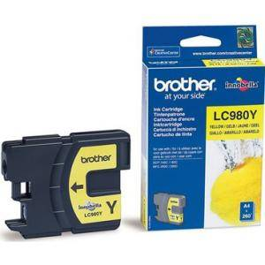 Brother ( lc980y ) yellow ink catrige, dcp145c / dcp165c