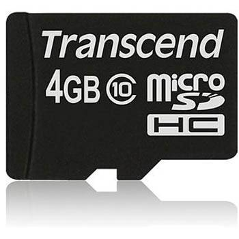 Transcend 4gb micro sdhc (no box & adapter - class 10) - ts4gusdc10