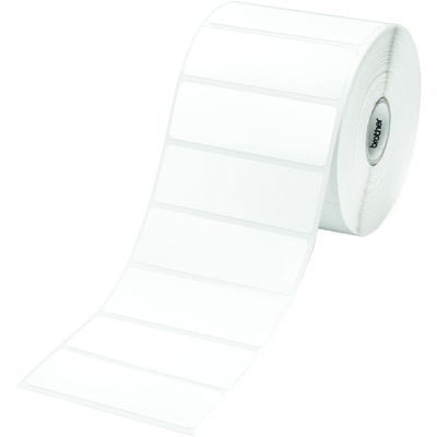 Етикети brother rd-s04e1 white paper label roll, 1552 labels per roll, 76mmx26 - rds04e1