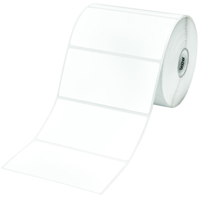 Етикети brother rd-s03e1 white paper label roll, 836 labels per roll, 102mmx50 - rds03e1