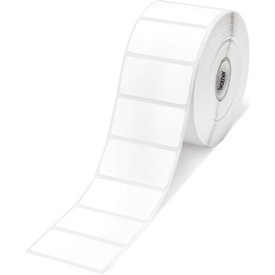 Етикети brother rd-s05e1 white paper label roll, 1552 labels per roll, 51x26  - rds05e1