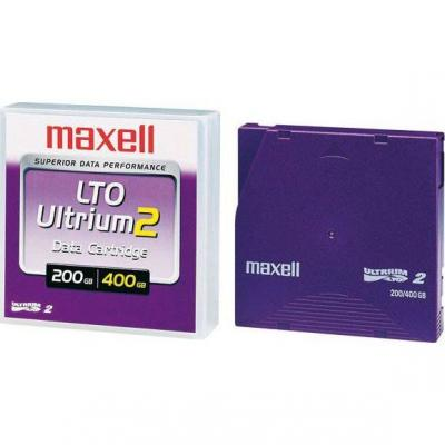 Касета lto2 tape ultrium 200/400 gb  maxell - ml-dl-lto2