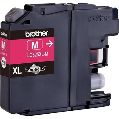 Brother lc-525 xl magenta ink cartridge high yield for dcp-j100, dcp-j105, mfc-j200 - lc525xlm