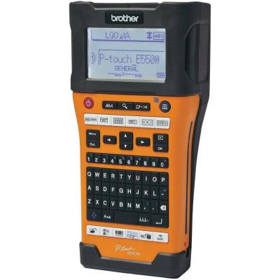 Етикетен принтер brother pt-e550wvp handheld industrial labelling syste - pte550wvpyj1