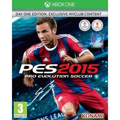 Игра pro evolution soccer 2015 day one edition xbox one