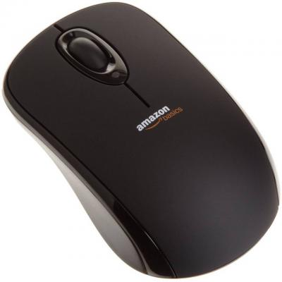 Мишка -  amazonbasics wireless mouse with nano receiver (black) - b005ejh6z4