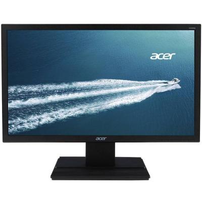 Монитор acer v226hqlbbd, 21.5' wide tn led, 5 ms, 100m:1 dcr, 200 cd/m2, 1920x1080 fullhd, dvi - um.wv6ee.b04