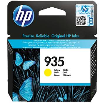 Консуматив - hp 935 yellow ink cartridge - c2p22ae
