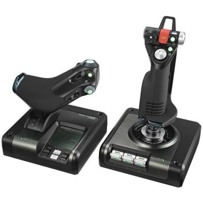 Джойстик - saitek ps34  джойстик x52 pro flight control system ps34