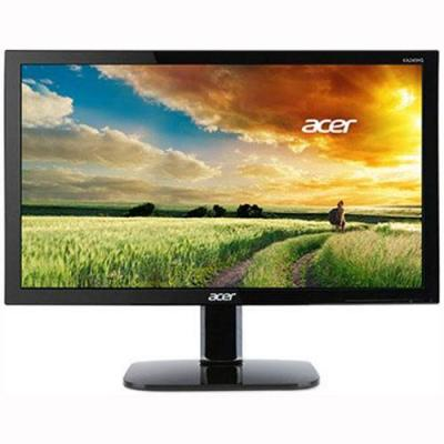 Монитор acer ka220hqbid, 21,5 инча wide tn led anti-glare, 5 ms, 100m:1 dcr, 200 cd/m2, full hd 1920x1080, vga, dvi, hdmi, черен / um.wx0ee.001