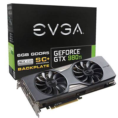 EVGA GEFORCE GTX980TI