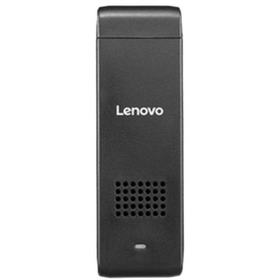 Мини компютър lenovo ideacentre stick 300 intel atom 1.83ghz quadcore, 2gb, 32gb ssd, microsd, usb, hdmi, wifi, bt 4.0, win 10/ 90er0005rn