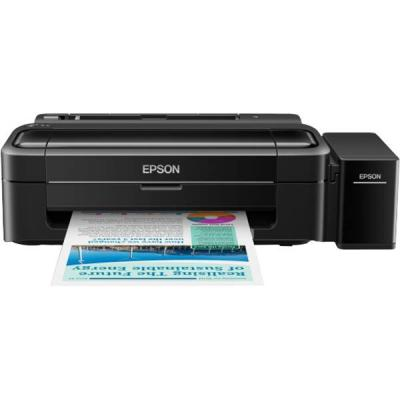Мастилоструен принтер epson inkjet printer l310, 4 ink cartridges, ycmk, print, manual, 5760x1440 dpi, 69 seconds per 10 x 15 cm photo - c11ce57401