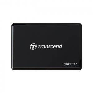 Четец за флаш карта transcend usb3.1 multi-card reader with uhs-ii support, black - ts-rdf9k