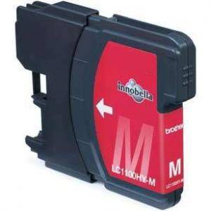 Brother ( lc980m lc1100hym ) magenta ink cartridge, dcp385c/ dcp585cw / dcp6690cw / mfc6490cw - g&g