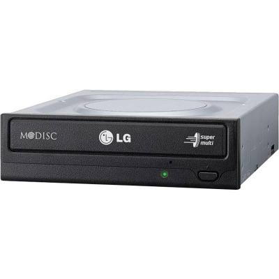 Записващо устройство lg gh24nsd1 internal dvd-rw s-ata, super multi, double layer, bare bulk black - gh24nsd1.auaa10b