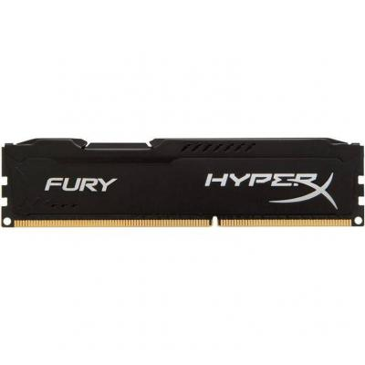 Ram памет kingston 4gb 2400mhz ddr4 cl15 dimm hyperx fury black - hx424c15fb/4