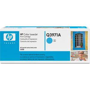 Тонер касета за hewlett packard hp clj 2550 series cyan (q3971a)