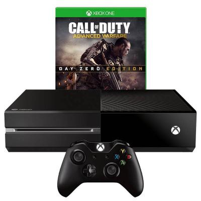 Игрова конзола - microsoft xbox one black 1tb + игра игра call of duty: advanced warfare - day zero edition