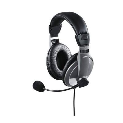 Слушалки с микрофон pc headset| hama-53994/11592