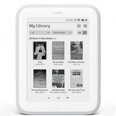 Четец за електронни книги e-book reader barnes & noble nook glowlight (refurbished)