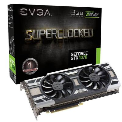 ВИДЕОКАРТА EVGA GEFORCE GTX 1070 SC GAMING