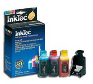 Мастило hp 6066d - color refill for hp c8766/ hp 95/3438/135/855 (hpi-6066c) - inktec-hp-6066