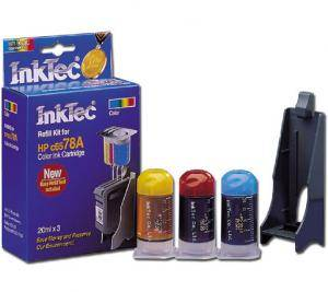 Мастило hp c6578a/d, c1823, c6625a, c51641 color (hpi-0002c) - inktec-hp-0002