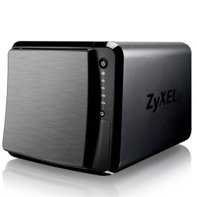 Мрежов сторидж zyxel nas542, 4-bay dual core personal cloud storage, dual core cpu 1.2ghz, 1gb ddr3 memory, 4 sata ii 2.5, nas542-eu0101f