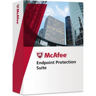 Mcafee endpoint protection suite - лиценз за 11 потребителя, epscde-aa-11