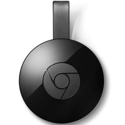Mултимедиен плейър google chromecast 2 hdmi, черен, google-chromecast-2