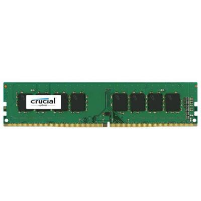Памет crucial dram 4gb ddr4 2133 mt/s (pc4-17000) cl15 sr x8 unbuffered dimm 288pin, ean: 649528768421, ct4g4dfs8213