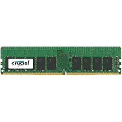 Памет crucial dram 8gb ddr4 2400 mt/s (pc4-19200) cl17 dr x8  ecc registered dimm 288pin, ean: 649528771964, ct8g4rfd824a