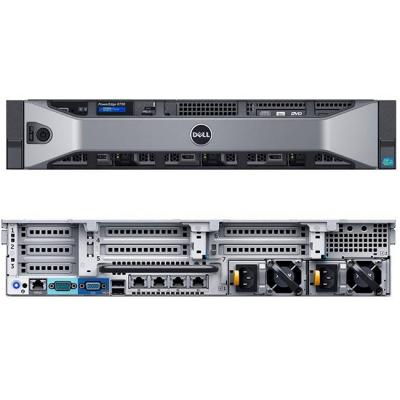Сървър poweredge r730,two xeon e5-2620v3 2.4ghz,15m, chassis with 12x3.5 hdd,16gb(2x8) rdimm ddr4, 300gb 10k sas, r7302x262016g300gbh73dhpsu-14