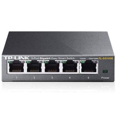 Комутатор tp-link tl-sg105e 5-port gigabit easy smart, tl-sg105e_vz