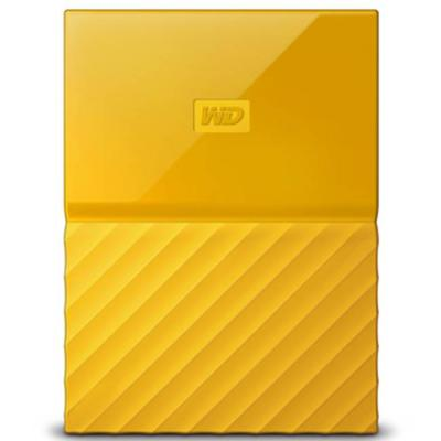 Външен диск hdd 1tb usb 3.0 mypassport yellow, wdbynn0010byl