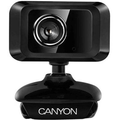 Уеб камера canyon cne-cwc1, 1.3 mp, usb2.0, черна, cne-cwc1