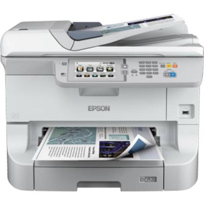 Мултифункционален принтер epson  workforce pro wf-8510dwf, business inkjet/multifunction, a3+, 4 ink cartridges, print, scan, copy, fax, c11cd44301