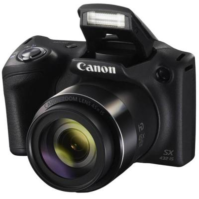 Цифров фотоапарат canon powershot sx432 is, черен, 1879c001aa