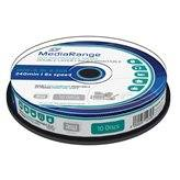 Dvd+r mediarange dual layer 240мин./8.5gb 8x (printable) - 10 бр. в шпиндел